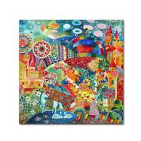 Oxana Ziaka 'Unicorn' Canvas Art