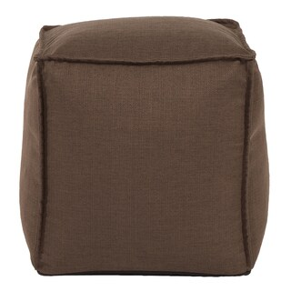 Square Pouf Sterling Chocolate