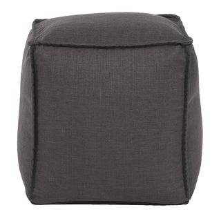 Square Pouf Sterling Charcoal