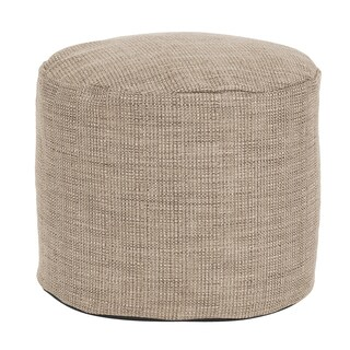 Tall Pouf Coco Stone