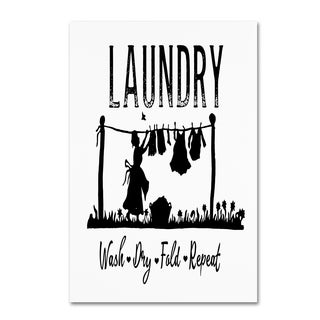 Marcee Duggar 'Laundry' Canvas Art