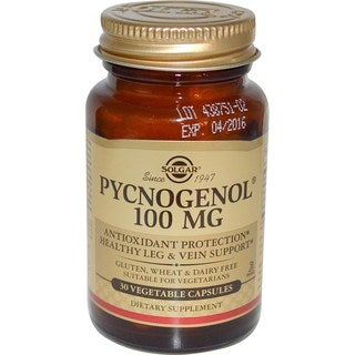 Solgar Pycnogenol 100 mg (30 Capsules)