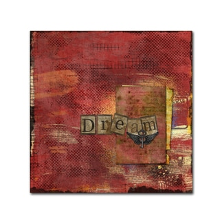 Marcee Duggar 'Dream in Red' Canvas Art