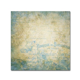 Marcee Duggar 'French Blues' Canvas Art