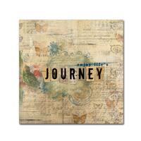 Marcee Duggar 'Enjoy Life's Journey' Canvas Art