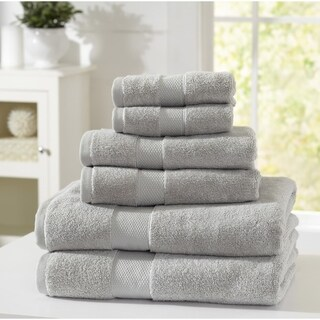 Home Fashion Designs Adriano Collection 6-Piece Luxury Hotel Towel Set