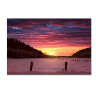 Philippe Sainte-Laudy 'To End My Day With You' Canvas Art