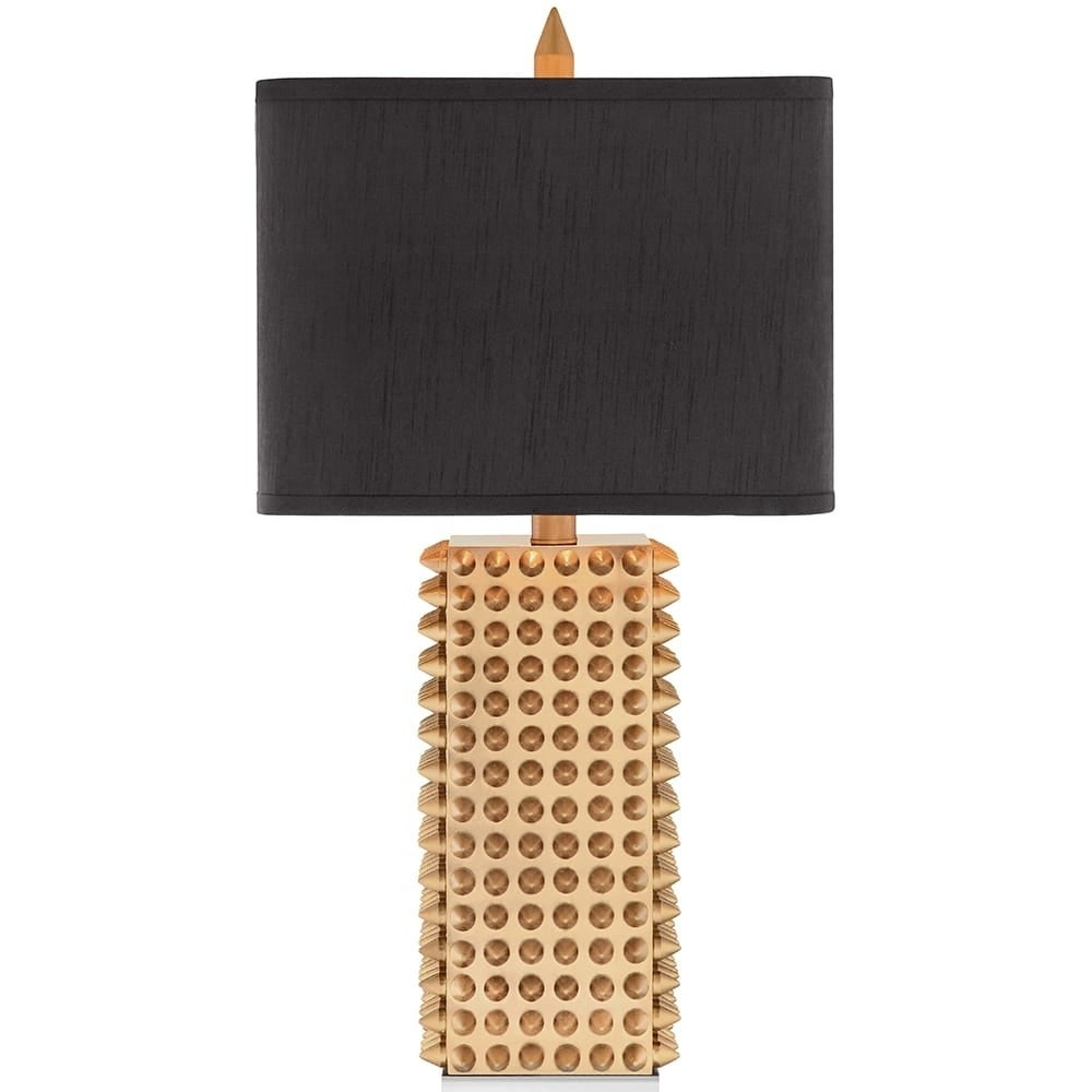 Oliver & James Viavant 3-way Gold-spiked Table Lamp