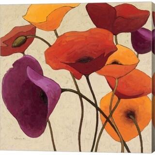 Shirley Novak 'Up One' Canvas Art