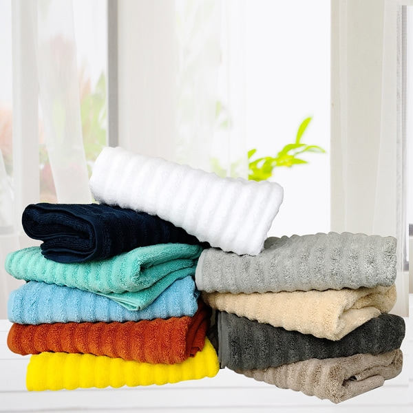 Zero Twist Quick Dry Cotton 6-piece Towel Set