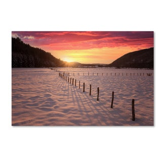 Philippe Sainte-Laudy 'Dance In the Fire Light' Canvas Art