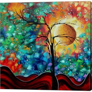 Megan Duncanson 'Bursting Forth' Canvas Art
