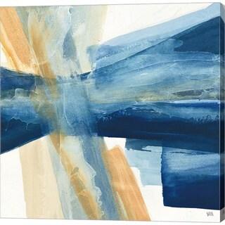 Chris Paschke 'Indigo II' Canvas Art