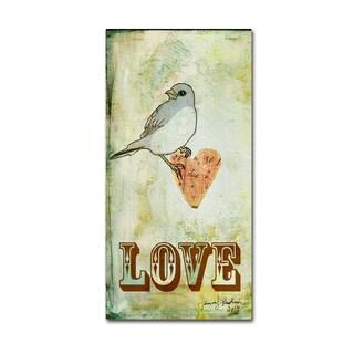 Tammy Kushnir 'Love 2' Canvas Art