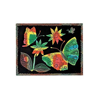 Melissa & Doug Scratch Art Paper Multicolor, Pack of 50 Sheets
