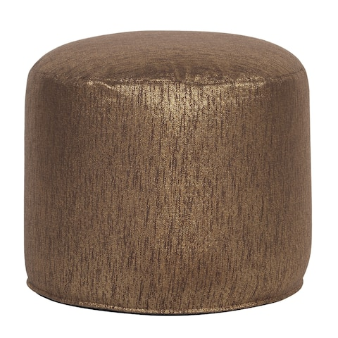 Tall Pouf Glam Chocolate