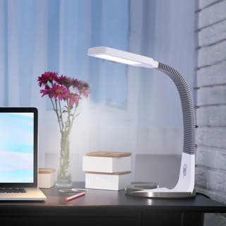 Tensor Peter 20140-000 Natural Daylight LED Gooseneck Desk Lamp|https://ak1.ostkcdn.com/images/products/16291433/P22657527.jpg?impolicy=medium