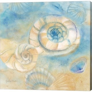 Cynthia Coulter 'Watercolor Shells I' Canvas Art