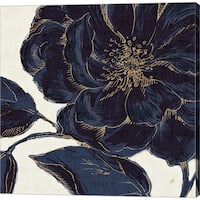 Daphne Brissonnet 'Indigo Garden II' Canvas Art