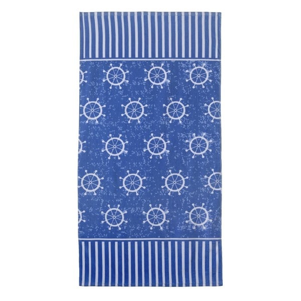 Armada Blue 32-inch x 62-inch Beach Towel