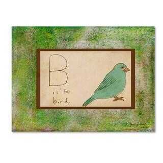 Tammy Kushnir 'B is For Bird' Canvas Art