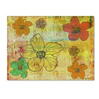 Tammy Kushnir 'Flowers 1' Canvas Art
