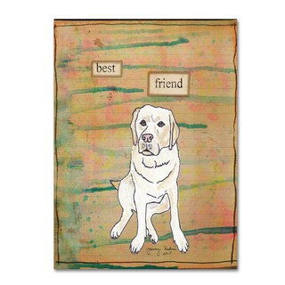 Tammy Kushnir 'Best Friend 2' Canvas Art