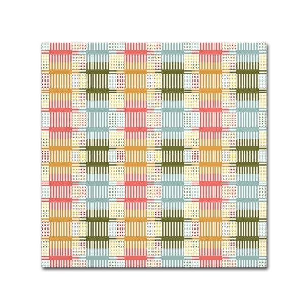 Tammy Kushnir 'Patchwork' Canvas Art - Multi-color