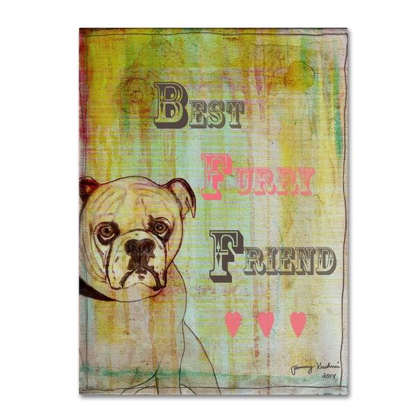 Tammy Kushnir 'BFF' Canvas Art - Multi-color