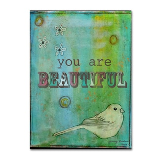 Tammy Kushnir 'You are Beautiful' Canvas Art