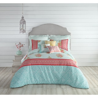 Jessica Simpson Ellie Cotton 3-piece Comforter Set
