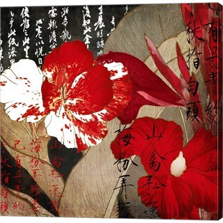 Color Bakery 'China Red I' Canvas Art