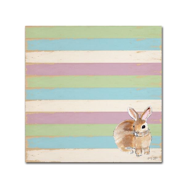 Tammy Kushnir 'Rabbit' Canvas Art