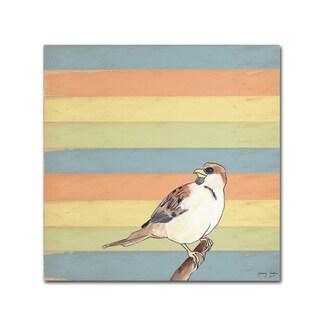 Tammy Kushnir 'Little Brown Bird' Canvas Art