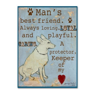 Tammy Kushnir 'Best Friend' Canvas Art