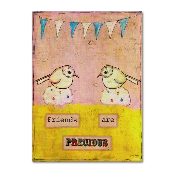 Tammy Kushnir 'Friends Are Precious' Canvas Art