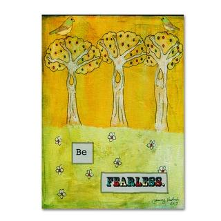 Tammy Kushnir 'Be Fearless' Canvas Art