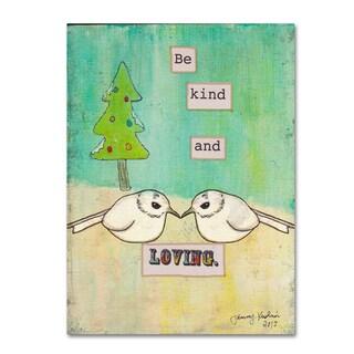 Tammy Kushnir 'Be Kind and Loving' Canvas Art