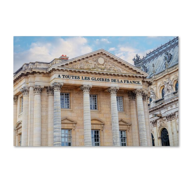 Cora Niele 'Palace Of Versailles I' Canvas Art