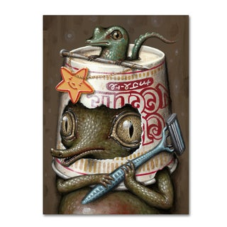Jason Limon 'Refusuffix 06' Canvas Art