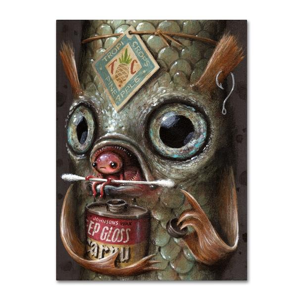Jason Limon 'Refusuffix 03' Canvas Art