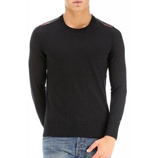 Burberry Jarvis Black Cashmere Sweater Size 2XL
