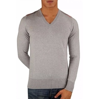 Burberry Grey Dockley Cashmere Sweater Size Small