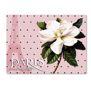 Tina Lavoie 'Paris Magnolias II' Canvas Art