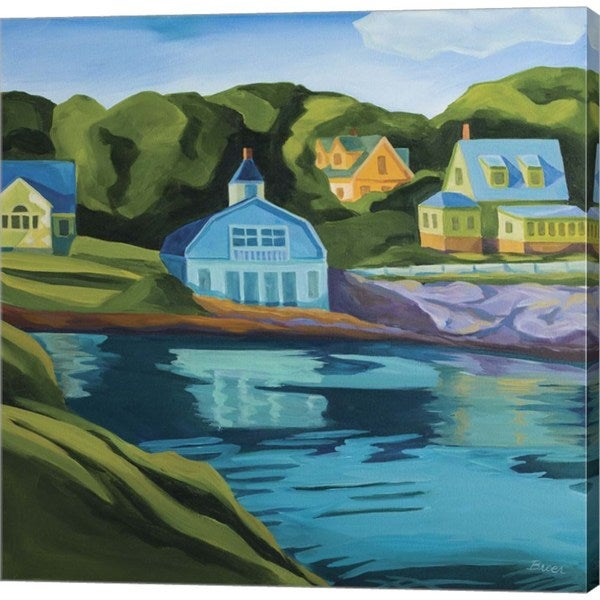 Catherine Breer 'Booth Bay' Canvas Art