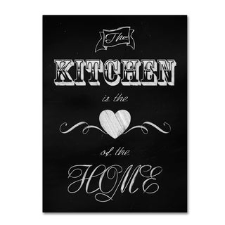 Tina Lavoie 'The Kitchen Is The Heart' Canvas Art