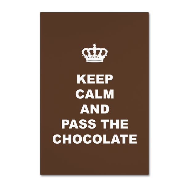 Tina Lavoie 'Pass The Chocolate' Canvas Art