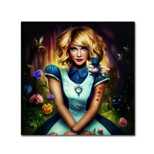JoJoesArt 'Alice in Wonderland' Canvas Art