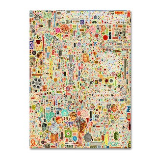 Colin Johnson 'Effloresce' Canvas Art
