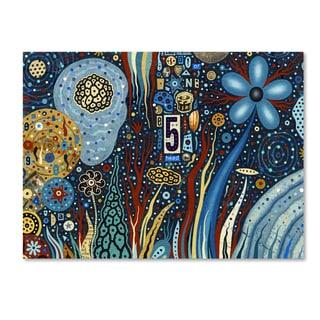 Colin Johnson 'Starlight' Canvas Art